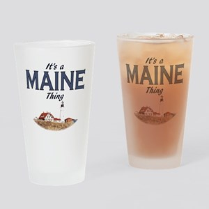 Its a Maine Thing Lighthouse Drinking Glass