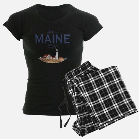 Its a Maine Thing Lighthouse Pajamas