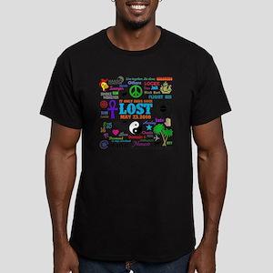 Loves Lost Men's Fitted T-Shirt (dark)
