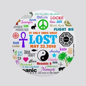 Loves Lost Round Ornament