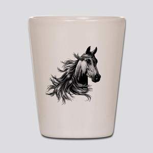 2-WILD HORSE Shot Glass