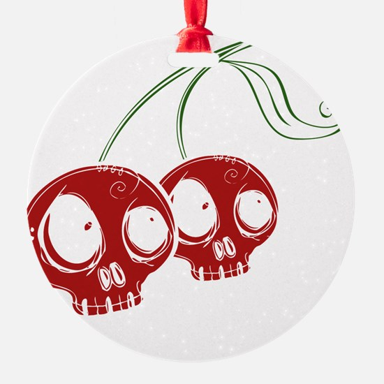 cherryskulls2 Ornament