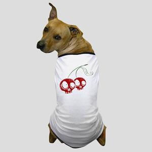 cherryskulls2 Dog T-Shirt