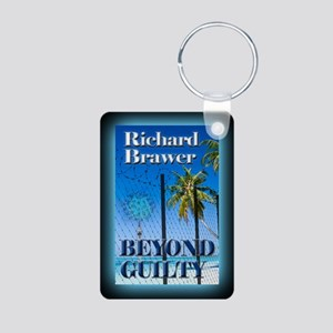 Beyond Guilty Rect mag Aluminum Photo Keychain