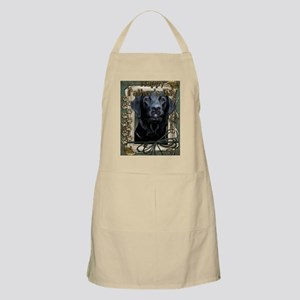 French_Quarters_Black_Labrador Apron