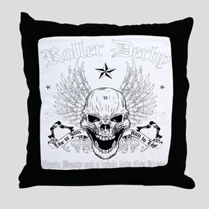 ROLLERDERBY-601 Throw Pillow