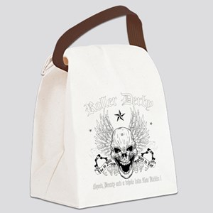 ROLLERDERBY-601 Canvas Lunch Bag
