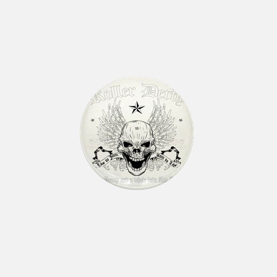 ROLLERDERBY-601 Mini Button