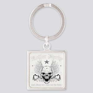ROLLERDERBY-601 Square Keychain