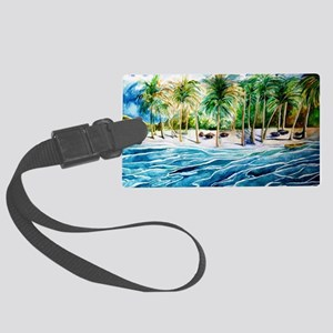 caribharbor Large Luggage Tag