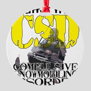 2-csd Round Ornament