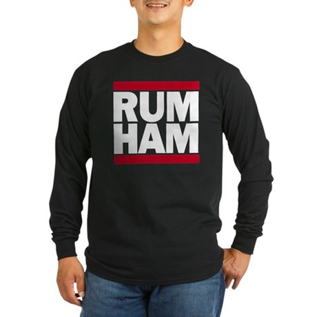 Rum Ham DMC_dark Long Sleeve T-Shirt