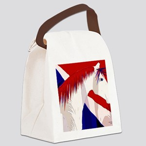 patriotic horse II Canvas Lunch Bag