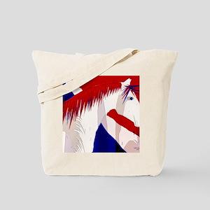 patriotic horse II Tote Bag
