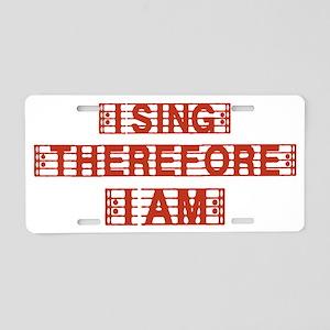 i-sing Aluminum License Plate