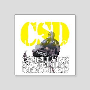 """2-csd2 Square Sticker 3"""" x 3"""""""