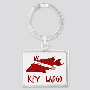 fish 001 Landscape Keychain