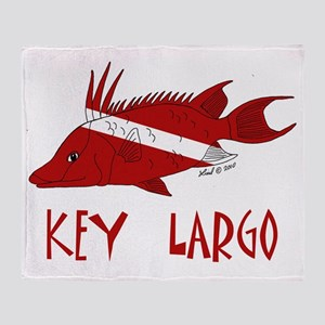 fish 001 Throw Blanket