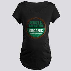ani-organic Maternity Dark T-Shirt