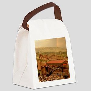redrocksrainbow Canvas Lunch Bag