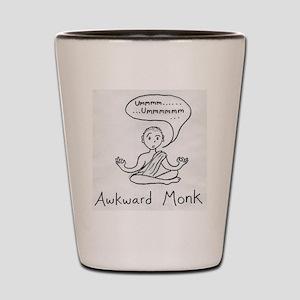 awkward monk Shot Glass