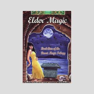 Elder Magic Greeting Card Rectangle Magnet