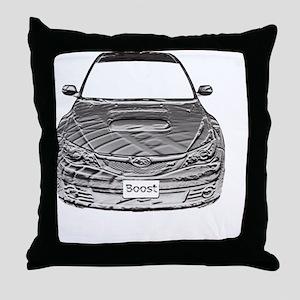 Alex STi - Bas Relief - Transparent - Throw Pillow