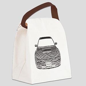 Alex STi - Bas Relief - Transpare Canvas Lunch Bag