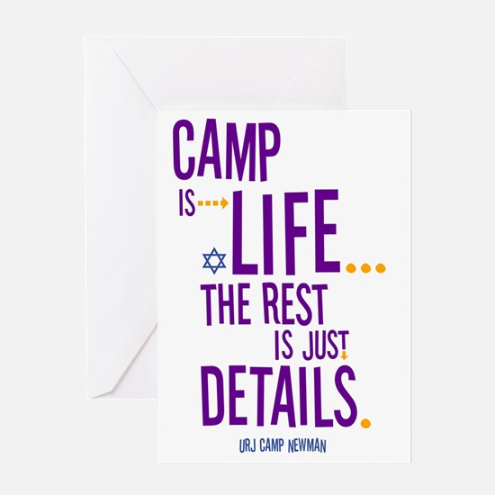 Camp-Is-Life Greeting Card