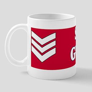 British-Army-Scots-Guards-LSgt-BSticker Mug