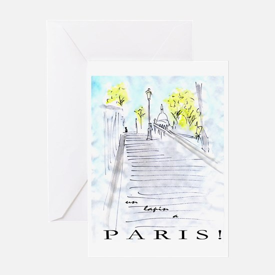 montmartre2 Greeting Card