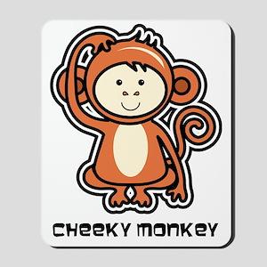 monkey icon Mousepad