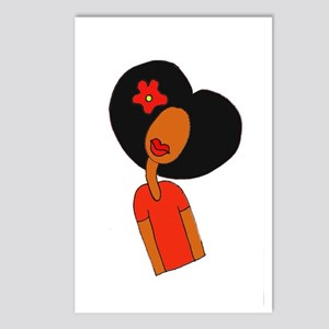 Curl Pattern Postcards (Package of 8)
