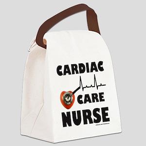 NurseCardiacCare Canvas Lunch Bag