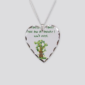 dontexist Necklace Heart Charm