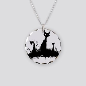 2-spies decal Necklace Circle Charm