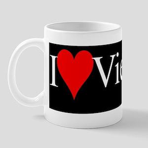 IloveViequesbumper-sticker-black Mug