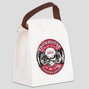 IH_LightningBolts Canvas Lunch Bag