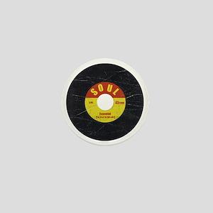 Soul Record - Scratch Texture - RGB Mini Button
