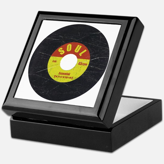 Soul Record - Scratch Texture - RGB Keepsake Box
