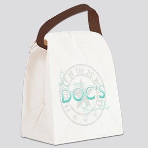 SueDocsGirl Canvas Lunch Bag