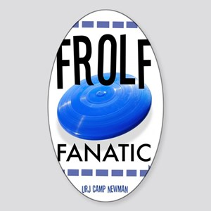 FROLF Sticker (Oval)