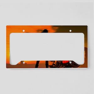 Summer Heat License Plate Holder