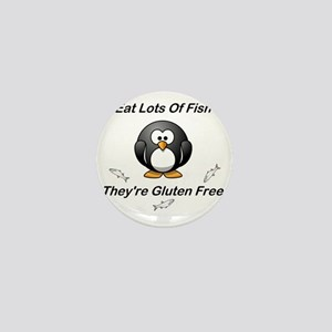 Eat Lots Of Fish Mini Button