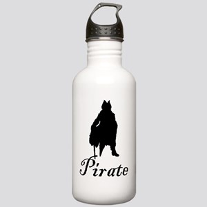 PIRATE 2000 black Stainless Water Bottle 1.0L