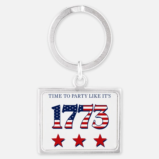 time to party like its 1773 Landscape Keychain