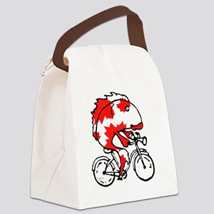 fish bike canadian 2 t Canvas Lunch Bag