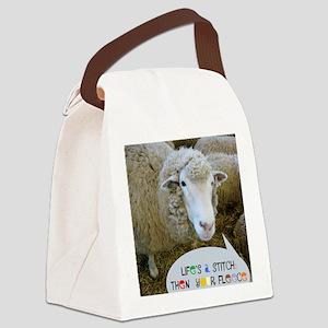 lifesastitch051210 Canvas Lunch Bag