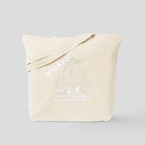 Walrus)B) Tote Bag