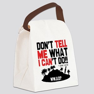 tellmeican Canvas Lunch Bag